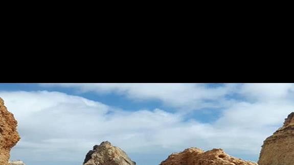 Klify przy plaży Alvor