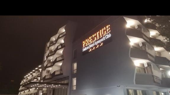 Nasz piekny hotel wejacie