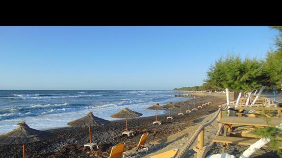 Plaża niedaleko hotelu