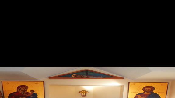 ikonostas w mini kapliczce