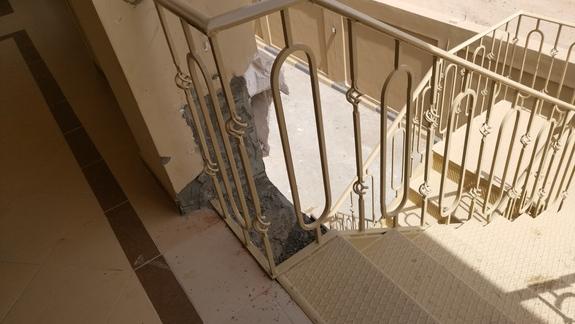 Prowizorka ze schodów