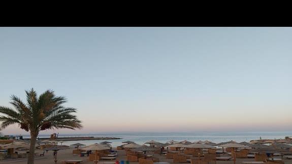 Prywatna plaża z dostępem do morza
