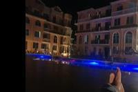 Hotel Hacienda Beach - Wieczór blisko baru..