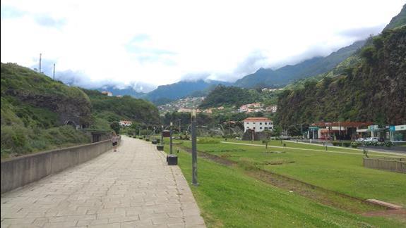 Widok na Sao Vicente
