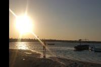Hotel Sidi Mansour - Zachód slonca na lagunie