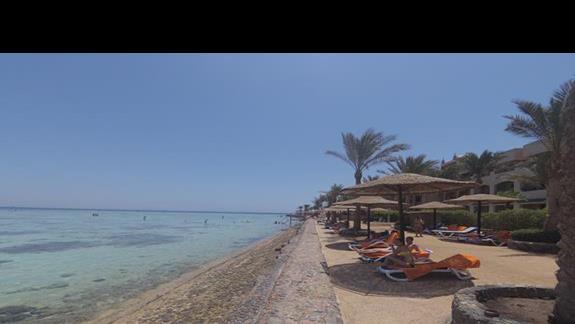 Plaza z mini rafa koralowa