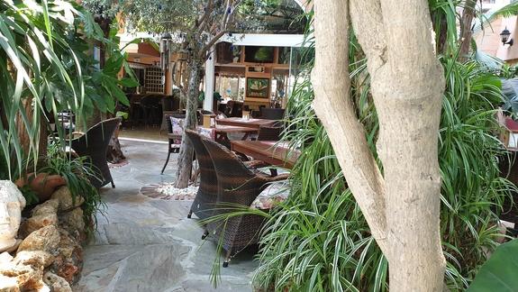Hotel, część restauracyjna
