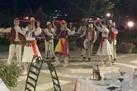 Hotel Klajdi - wieczór albański