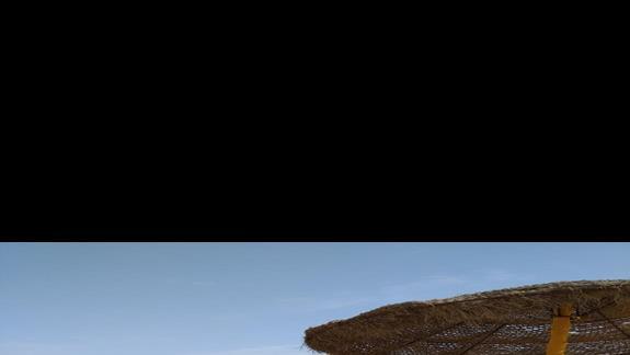 Widok z plaży, która jest od razu przy kwaterze.
