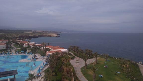 Widok z górnej części hotelu