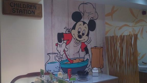 Strefa dla dzieci w restauracji