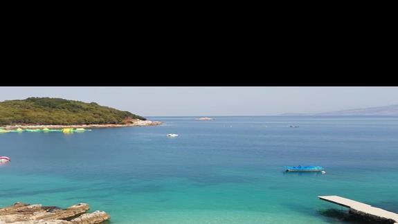 Plaża w Ksamil