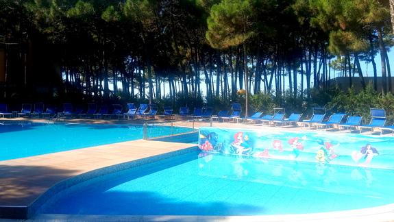 Basen w hotelu Diamma Resort