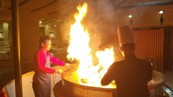 Grill mongolski - gorąco polecam !