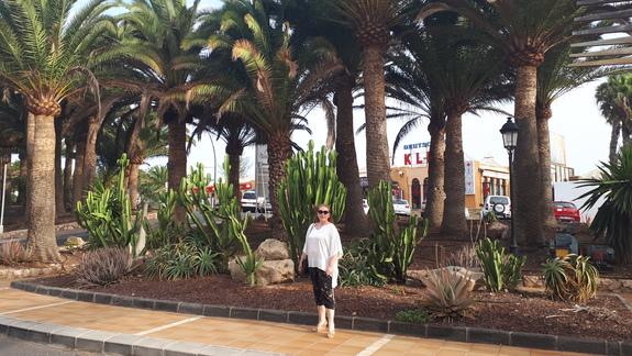 Okolica hotelu od strony miasteczka Costa Calma