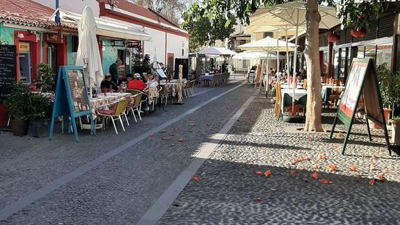 Uliczka w Funchal