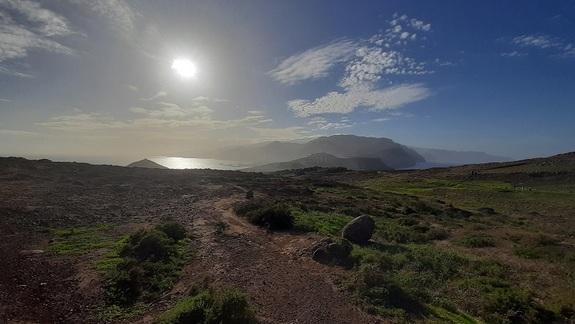 Pustynne obszary na wschodzie wyspy