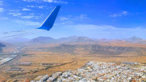 ladowanie Fuerteventura