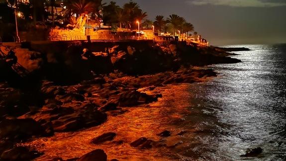 Wyspa noca, ocean
