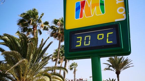 Temperatura w marcu promenada Playa Del Ingles