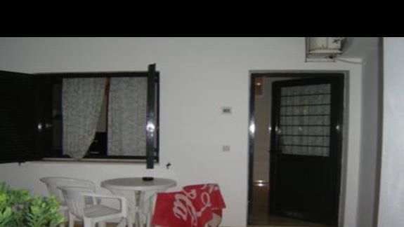 Wejście do pokoju, apartamentu