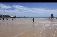 Caleta de Fuste - Plaża przy marinie.