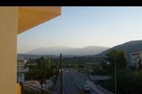 Hotel Castro - Widok z balkonu na góry