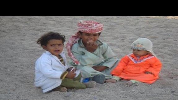 mali Beduini / z wycieczki fakultat./