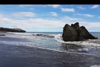 Funchal - kawałek plaży bez kamieni :)