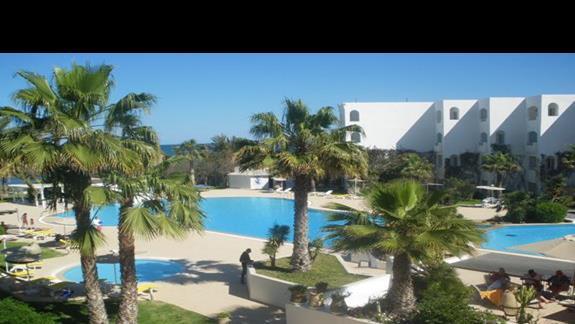 widok z naszego balkonu