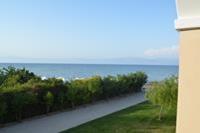 Hotel Roda Beach Resort & SPA - widok z naszego pokoju.