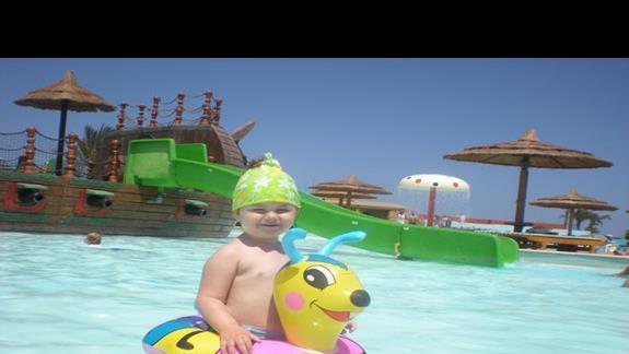 Podgrzewany basen dla dzieci