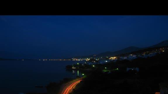 Widok z hotelu na Eloundę