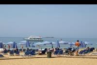 Hotel Labranda Sandy Beach - plaża przed hotelem piaszczysta i szeroka, nieopodal plaża nudystów :P