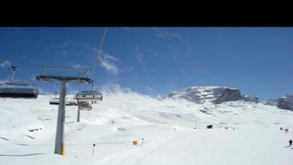 Trasy narciarskie na Madonna di Campiglio