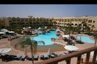 Hotel Three Corners Palmyra - to takze z balkonu