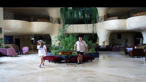 Wnętrze hotelu