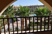 Hotel Three Corners Palmyra - widok z balkonu