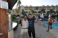 Hotel Three Corners Palmyra - z Elsayed-em, który lał i lał i lał :))))) Spoko gość
