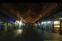 Alanya - Centrum nocą.