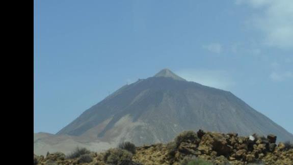 Na teneryfie obowiązkowo trzeba zobaczyć wulkan Teide.