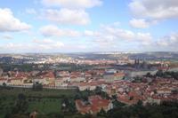 Hotel Christie - Panorama Pragi z wieży Eiffla