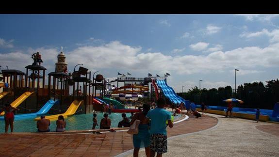 Aquapark przy hotelu