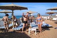 Hurghada - Na plazy slonce prazy