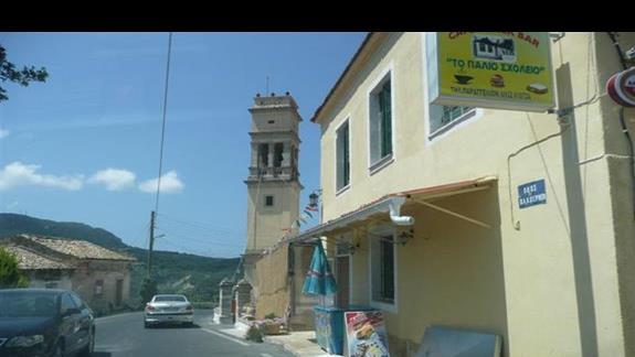 główna droga Korfu zwana przez miejscowych autostradą