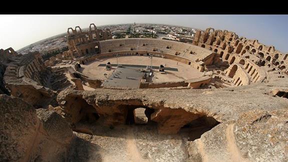 amfiteatr , podczas kolejnej wycieczki