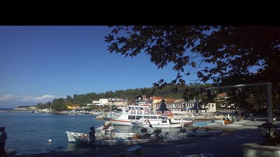Port w Thassos