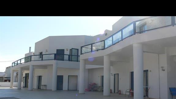 Budynek z apartamentami.