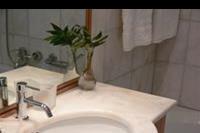 Hotel Mitsis Blue Domes Exclusive Resort & Spa - Lazienka w pokoju standardowym 2os.