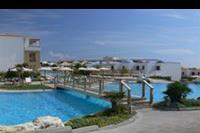 Hotel Mitsis Blue Domes Exclusive Resort & Spa - Drugi basen (z wodospadem).